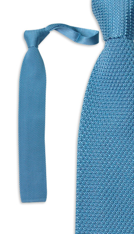 Узкий вязаный галстук Franco
